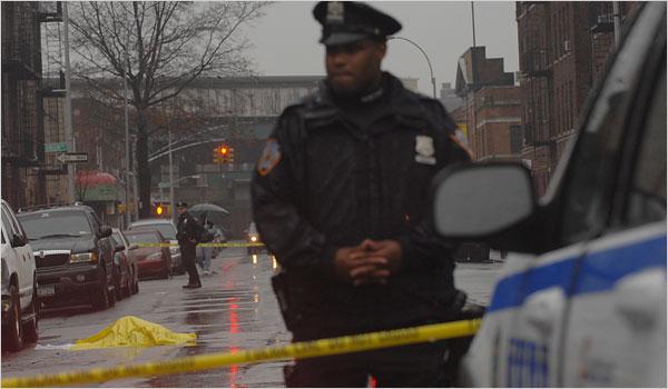 in new york city fewer murders on rainy days